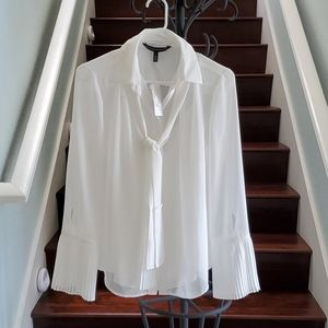 NWT White House Black Market sheer blouse